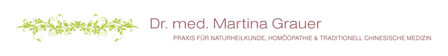 Dr. Martina Grauer – Praxis für Naturheilkunde Logo